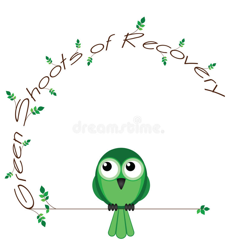 Green Shoots Of Recovery Royalty Free Stock Photo