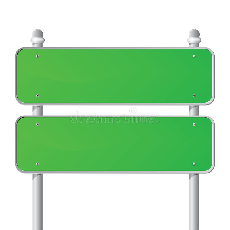 Download Green Sign stock vector. Illustration of boarding, business - 3994865