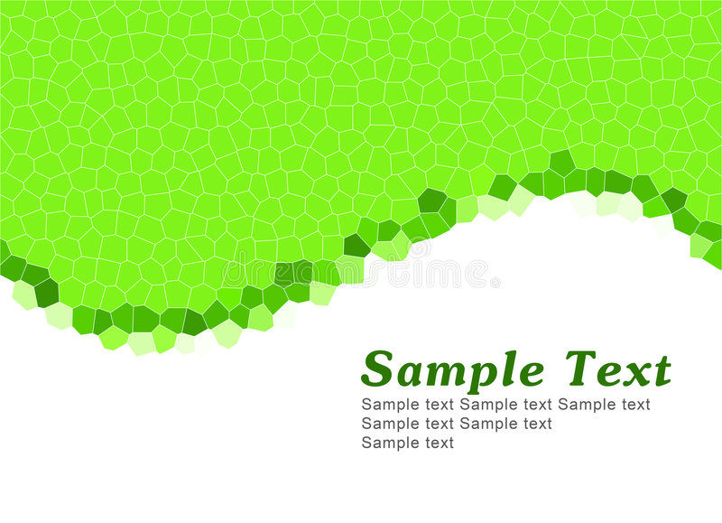 green simple template бесплатная иллюстрация
