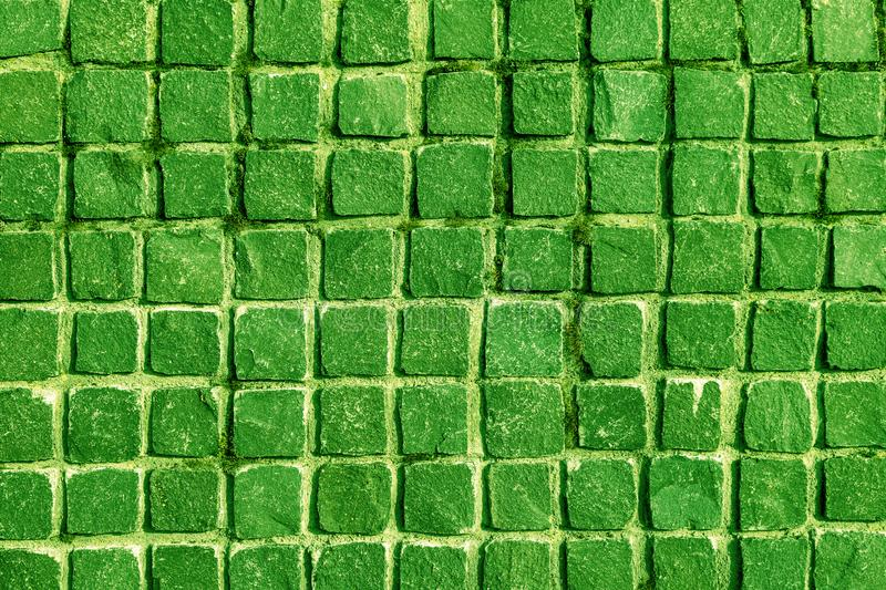 Green slate wall texture background stone wall tile old floor pattern ufo stock photo