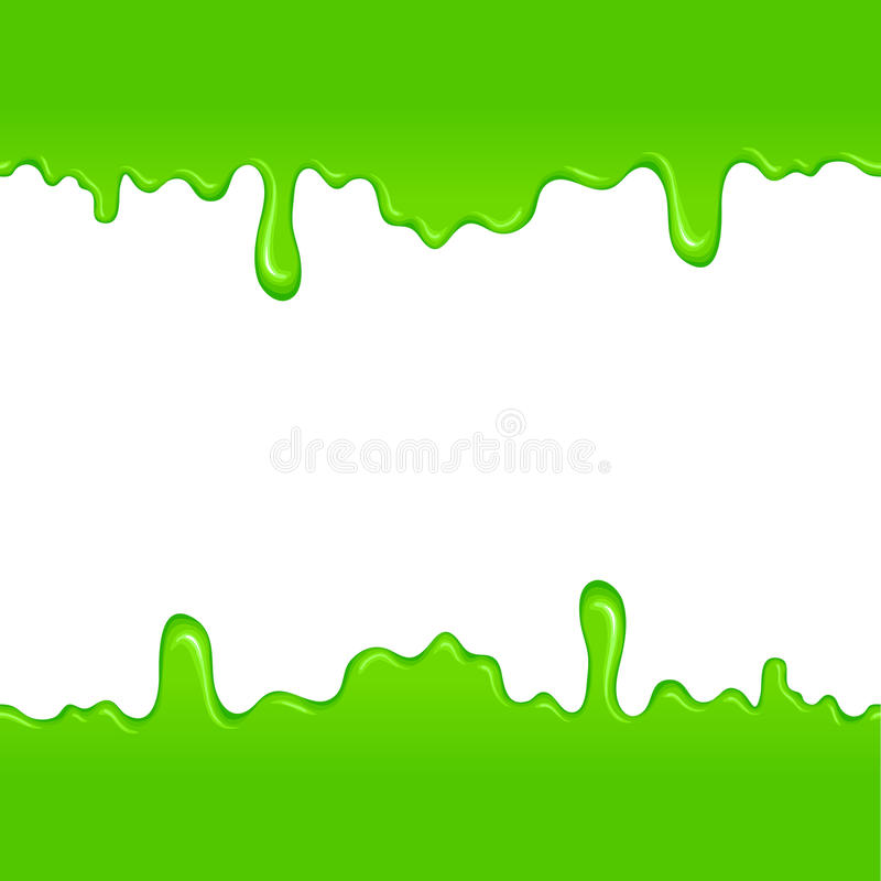 Green slime pattern. For web and mobile devices stock illustration