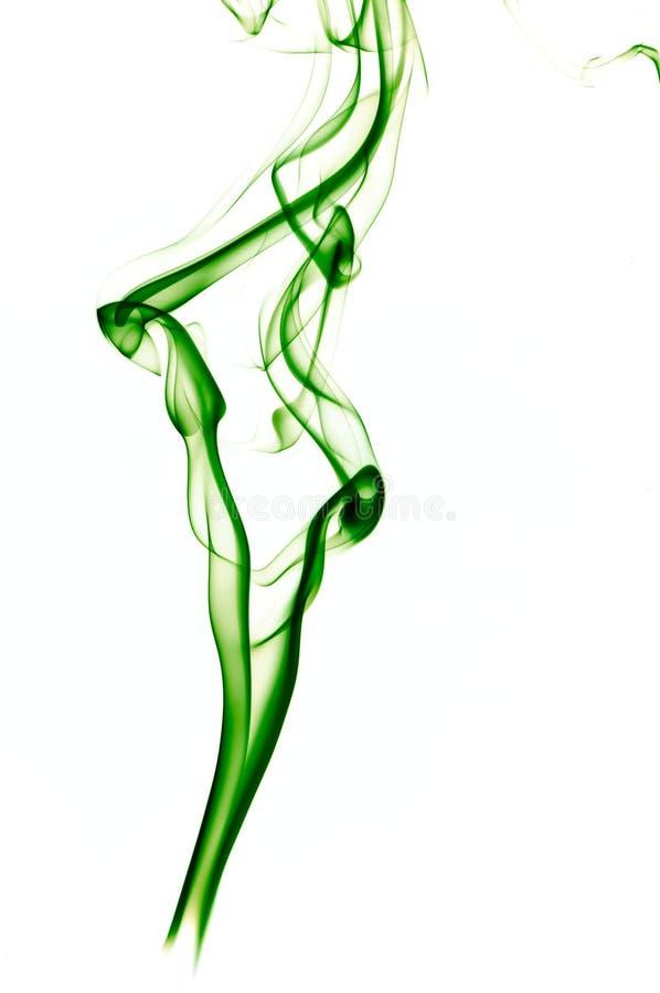 Green smoke vector illustration