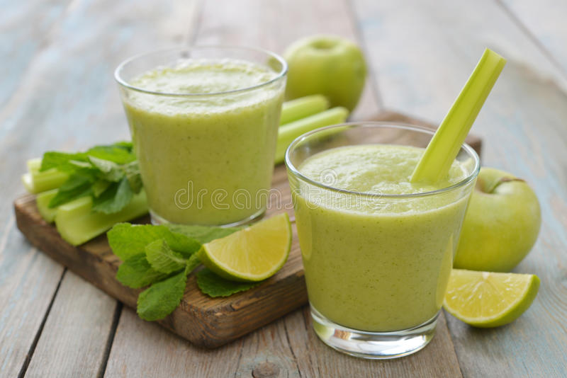 Download Green Smoothie Stock Photo - Image: 39988714
