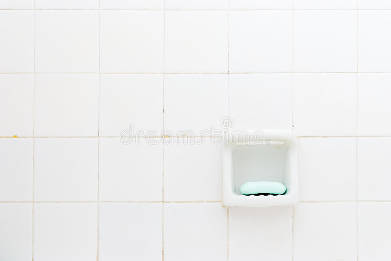 Green Soap, Old Bathroom stock photography