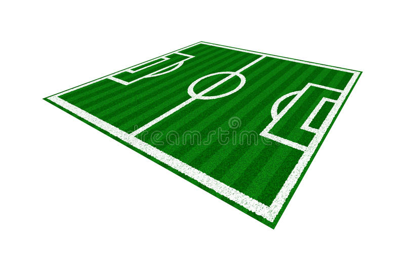 Download Green Soccer Field stock illustration. Image of court - 11948767