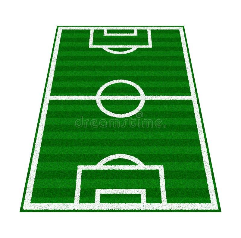 Download Green Soccer Field stock illustration. Illustration of design - 11999721