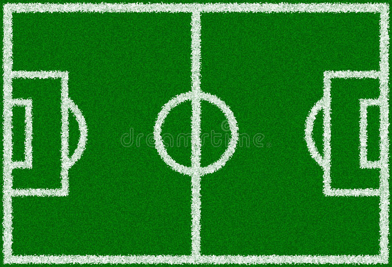 Download Green Soccer Field Royalty Free Stock Photography - Image: 12019047