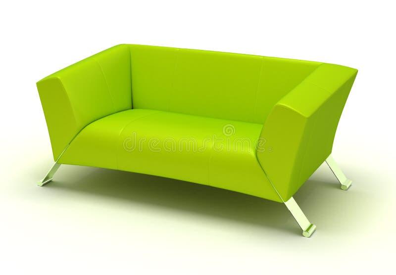 Green Sofa stock photos