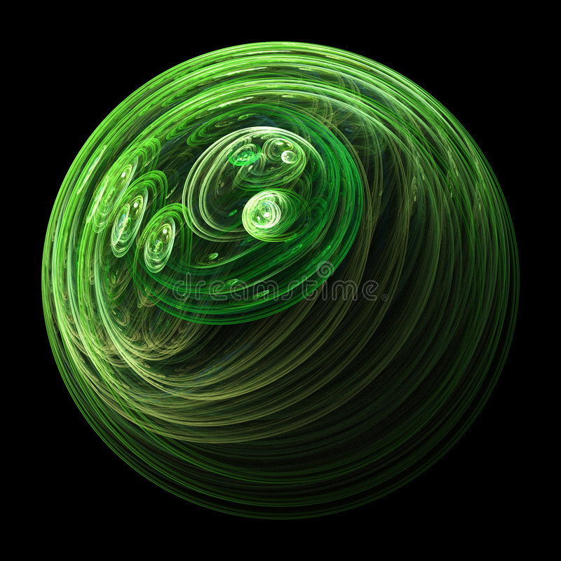 Green solar system stock images