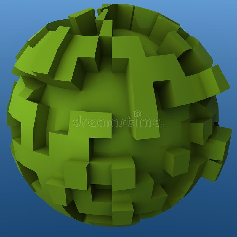 Free Green Sphere Royalty Free Stock Images - 10459359