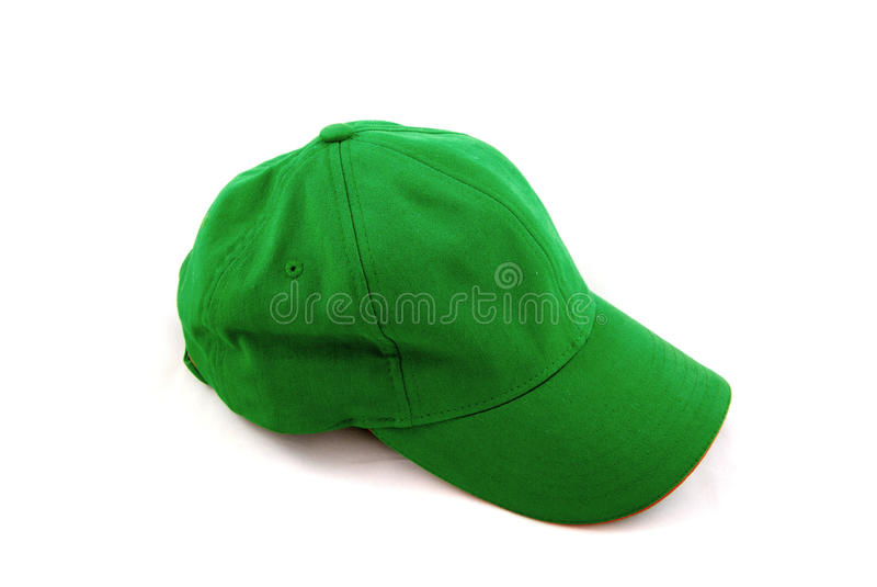 Green Sports Cap Stock Images