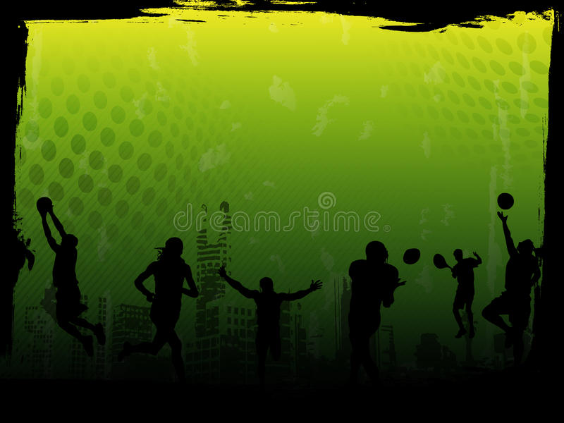 Green Sports Vector Background. Vector image of sports atmosphere, best for backgrounds and templates vector illustration
