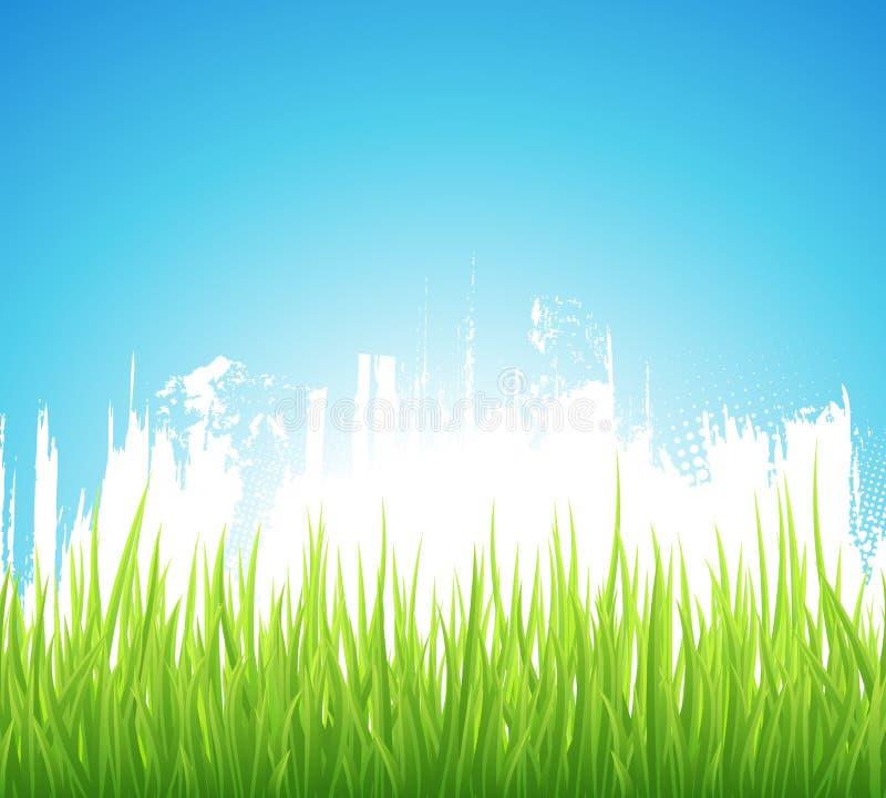 Download Green Spring background stock vector. Illustration of morning - 27675858