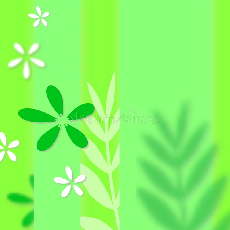 Green spring texture stock images