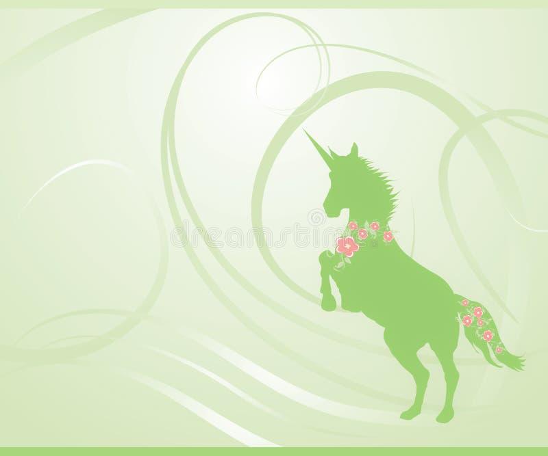 Download Green Spring Unicorn stock illustration. Image of cherry - 8040366