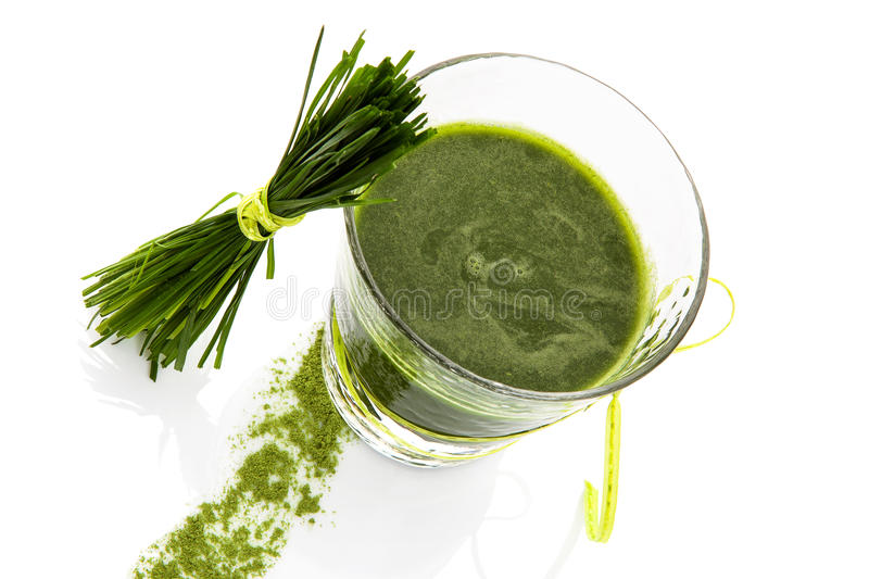Green superfood. Healthy living. stock images