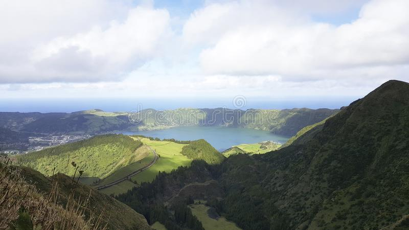 Green Sustainable Sao Miguel Island, Azores royalty free stock photos