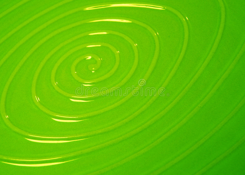 Green swirl stock photos