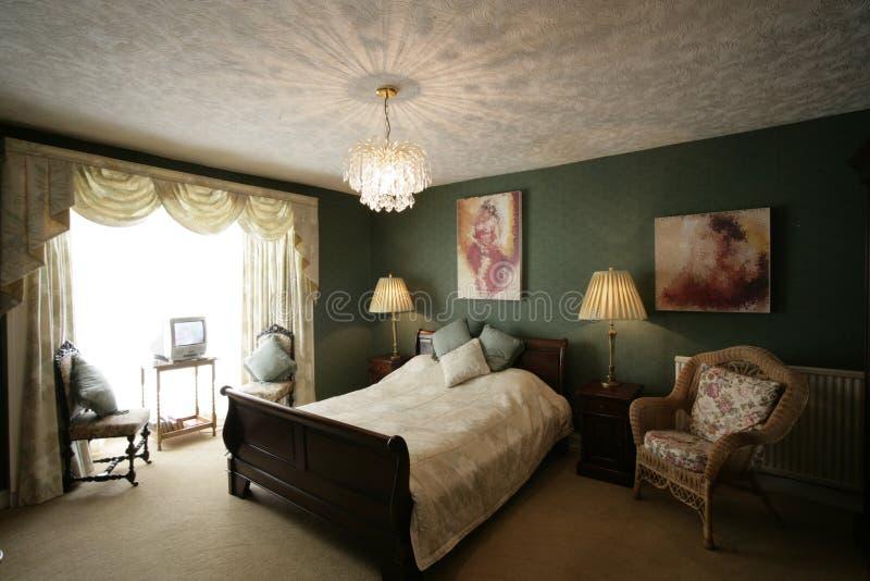 green sypialni zdjęcia stock