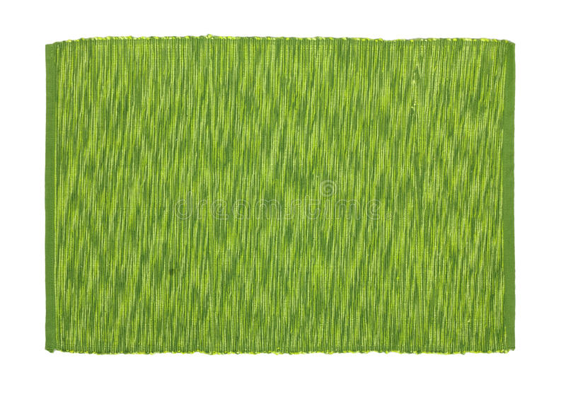 Green tablecloth. Background texture stock image