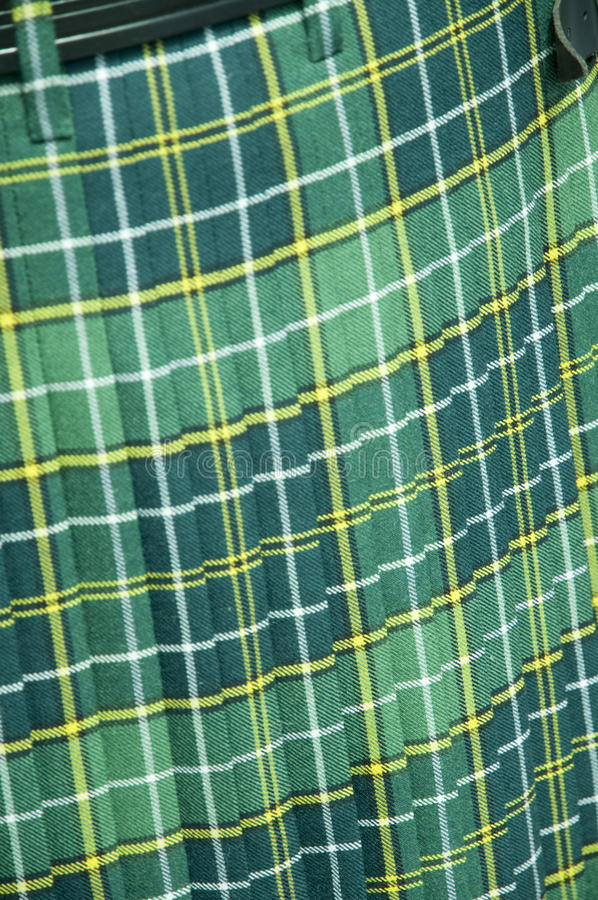 Free Green Tartan Kilt Stock Photos - 15375803