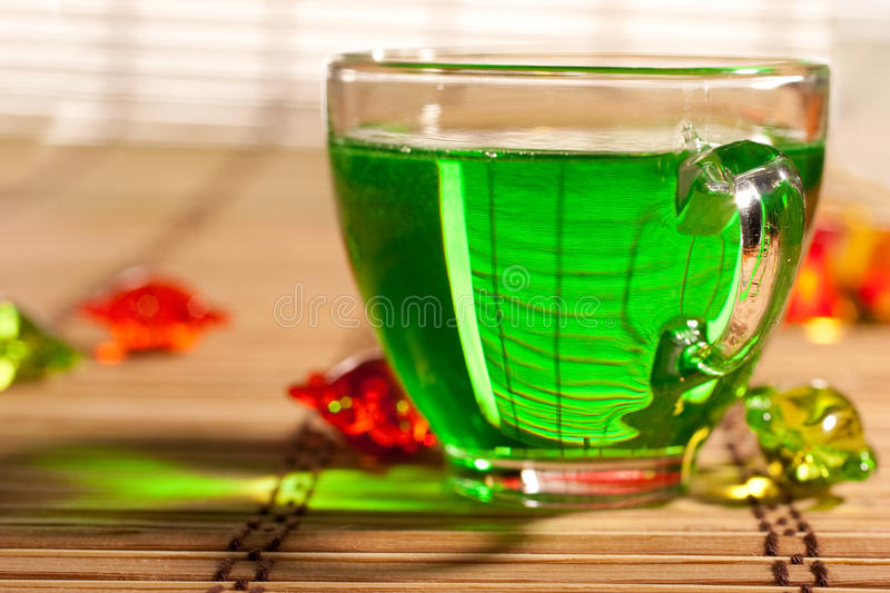 Download Green tea stock image. Image of cuisine, drink, culinary - 14856757
