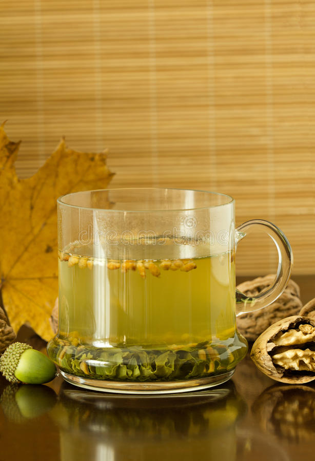 Download Green Tea Royalty Free Stock Images - Image: 24941999