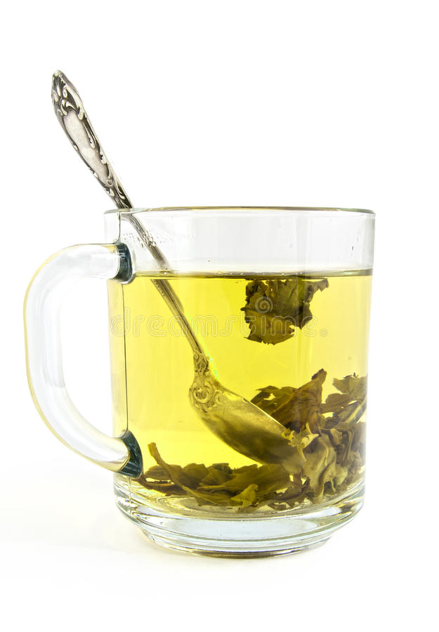 Download Green tea stock photo. Image of refreshment, object, water - 25566624