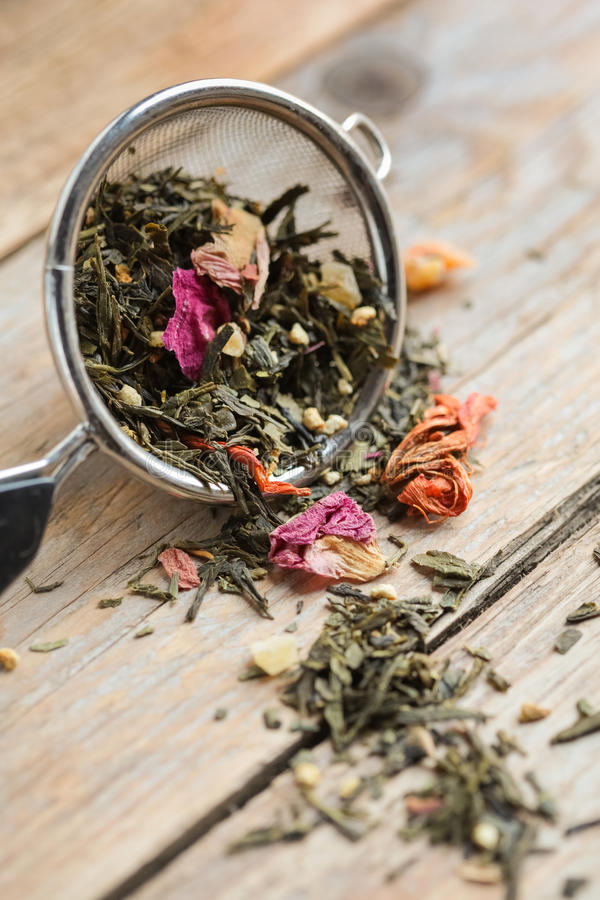 Download Green Tea stock image. Image of close, heap, traditional - 28862931