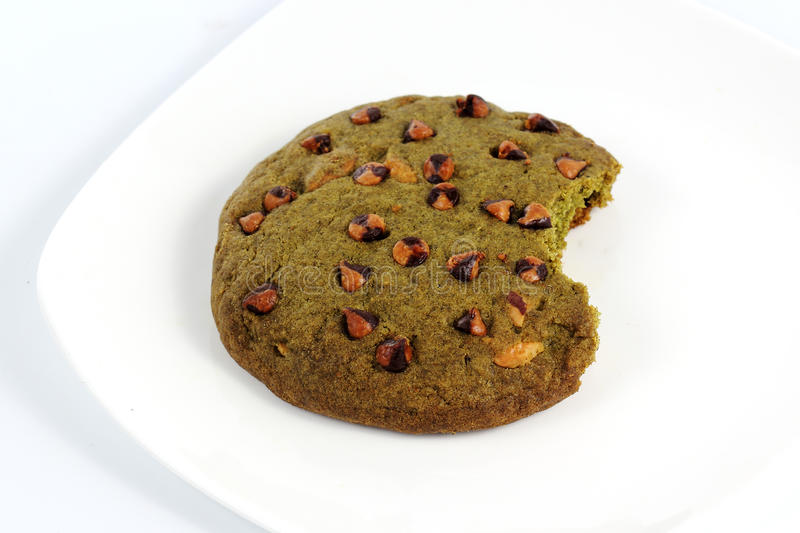 Download Green tea Cookie stock image. Image of isolated, candy - 41432729