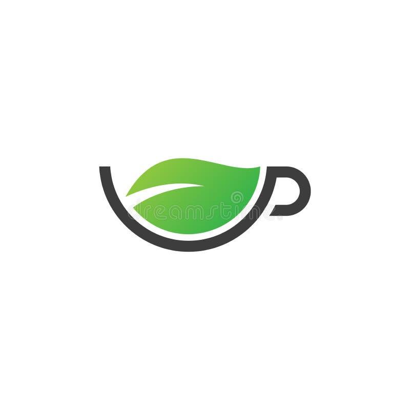 Mint Leaves Organic Logo Concept:  Logo Green Herb Stock Vector. Illustration Of Symbol