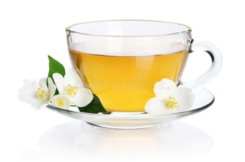 Download Green tea with jasmine stock image. Image of fresh, clean - 31363369