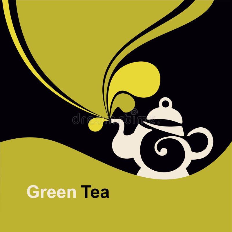 Green tea. royalty free illustration