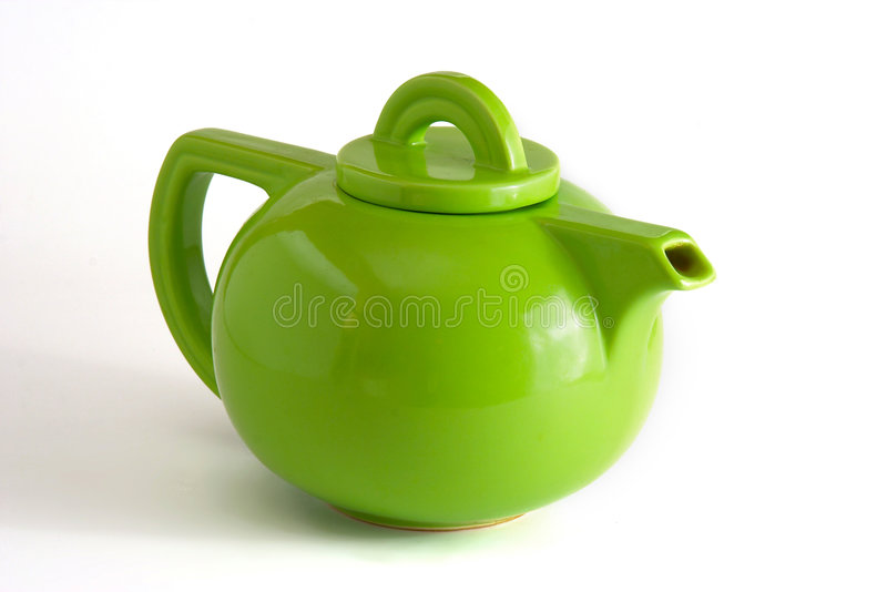 Download Green Teapot stock image. Image of drink, oriental, flora - 769215
