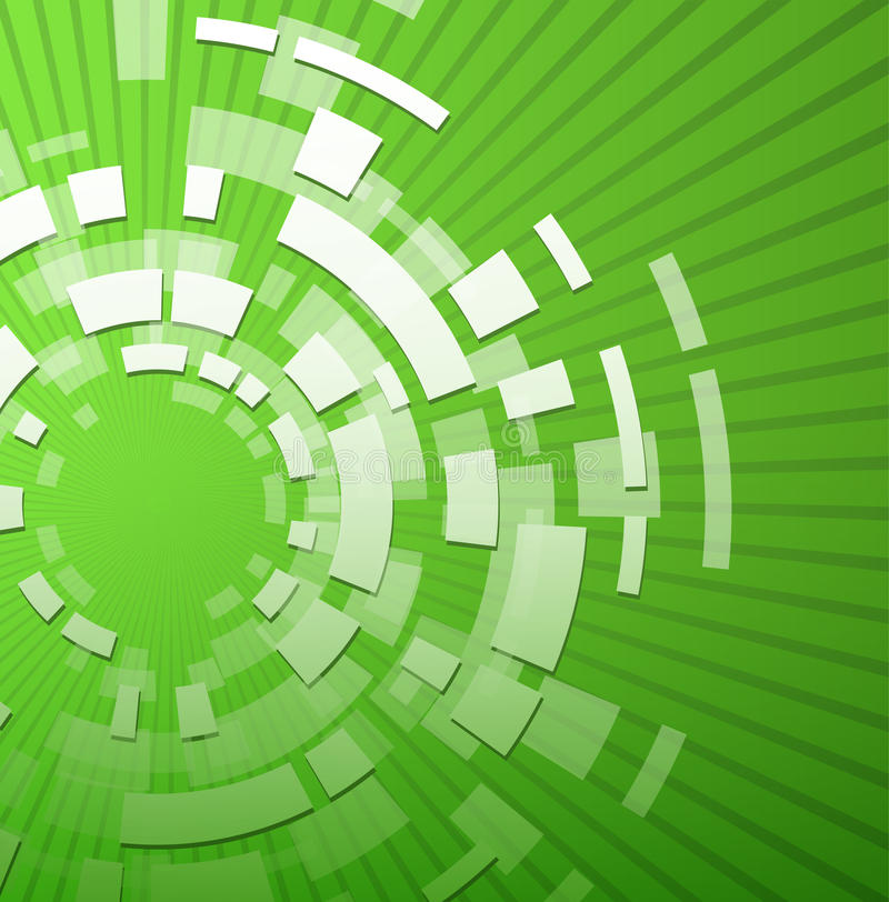 Green Technology Background Stock Photo