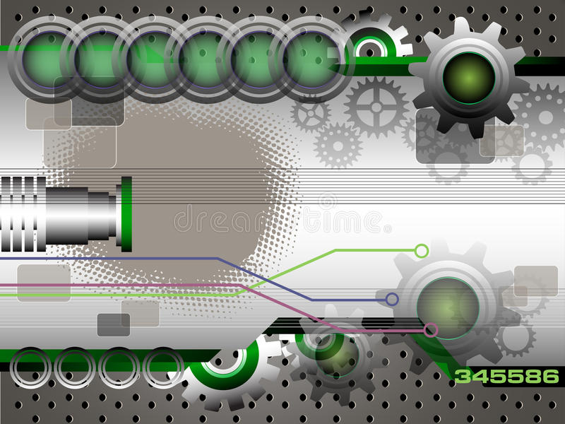 Green technology design royalty free stock images