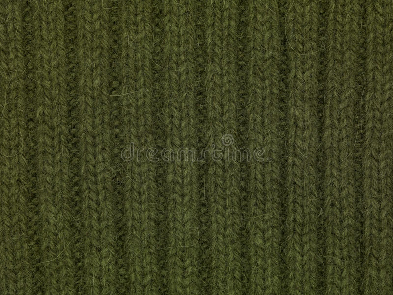 Green textile background. Close up royalty free stock photo