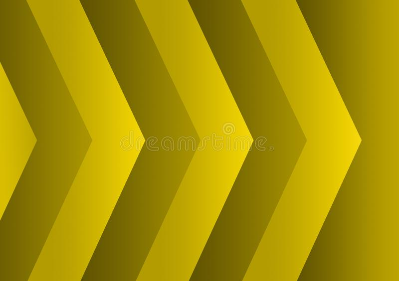 Green textured arrow lines background design for wallpaper royalty free illustration