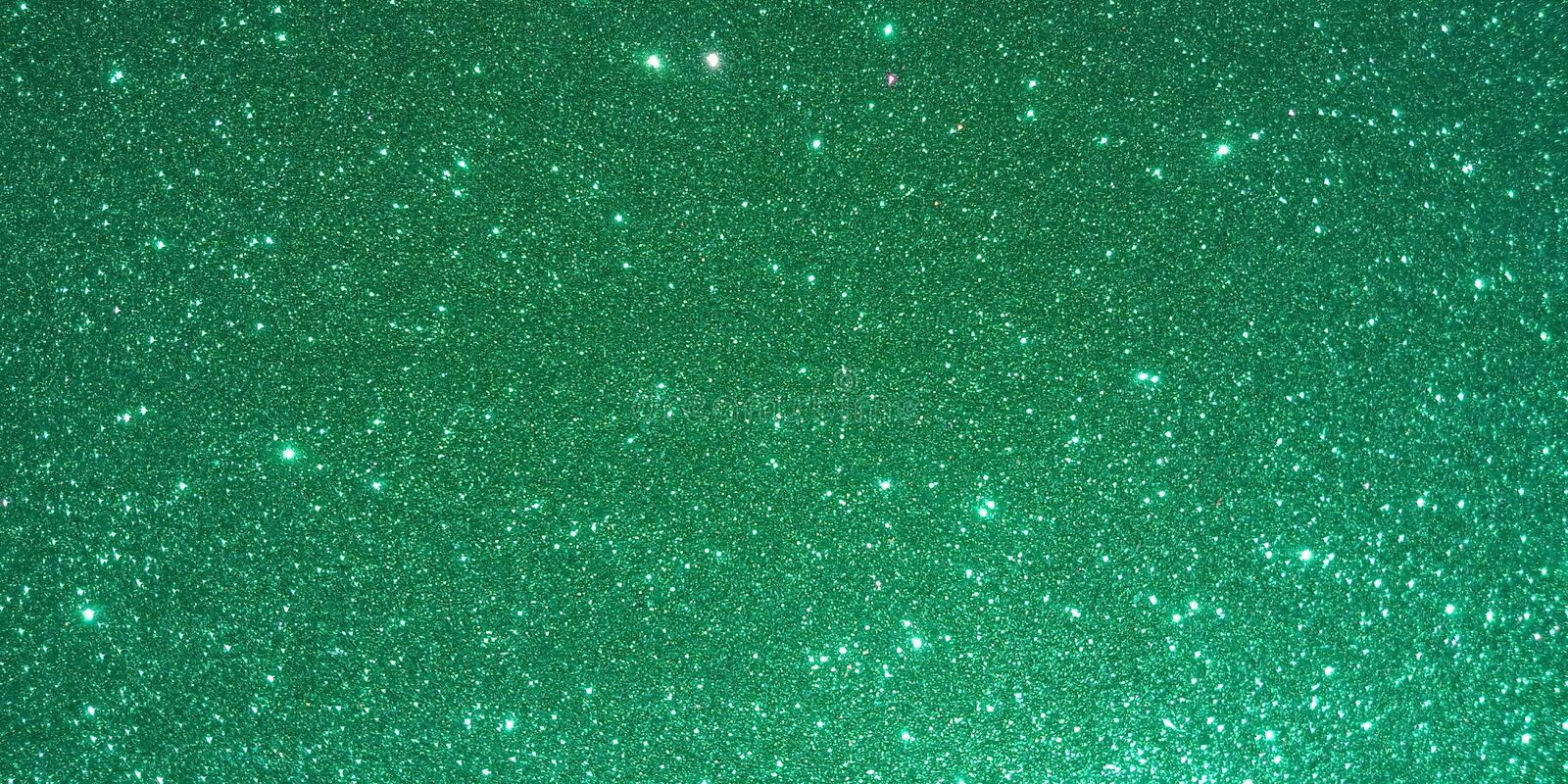 Green textured background with glitter effect background stock illustration