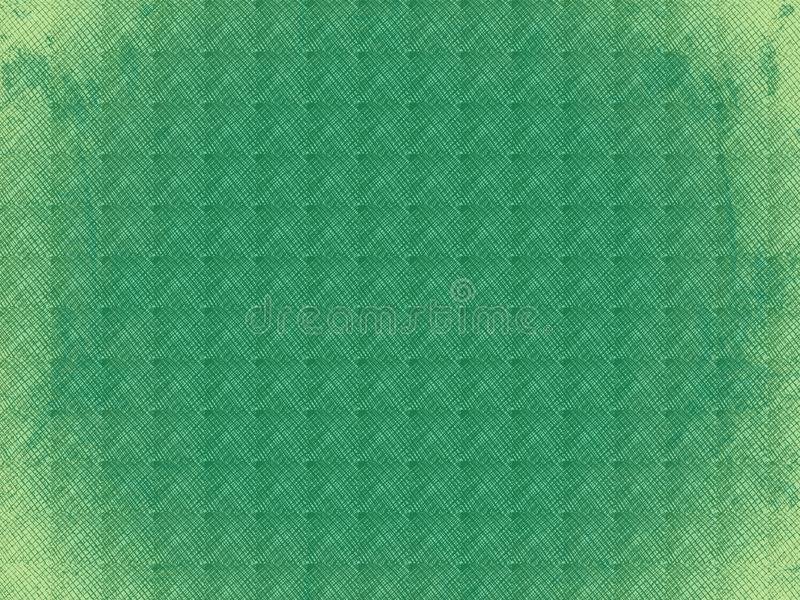 Green textured background with squares royalty free stock image