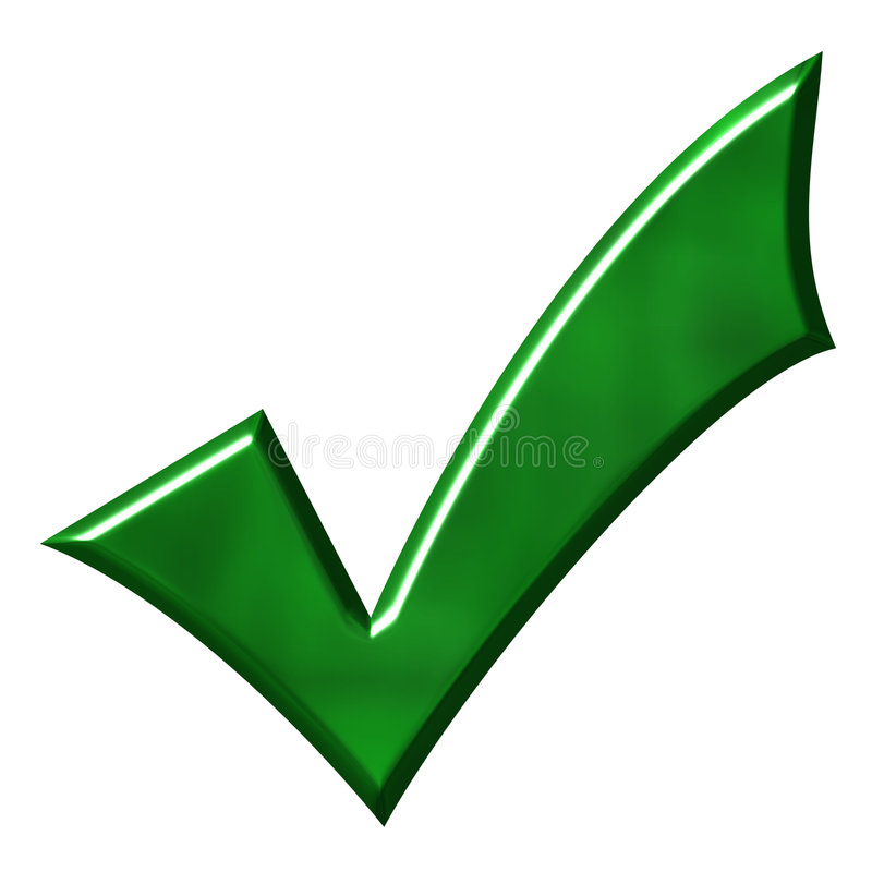 Download Green Tick stock illustration. Image of illustration, survey - 2690684