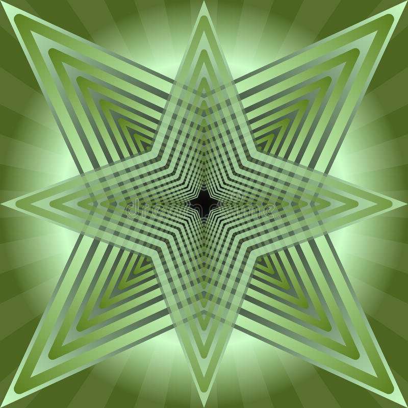 green tile with abstract semitransparent star shape on green rh dreamstime com Farmhouse Shapes Abstract Shapes