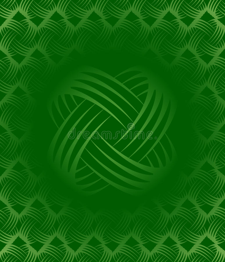 Green Tileable Wallpaper stock images