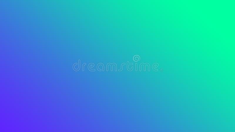 Green to blue abstract simple gradient . vector illustration