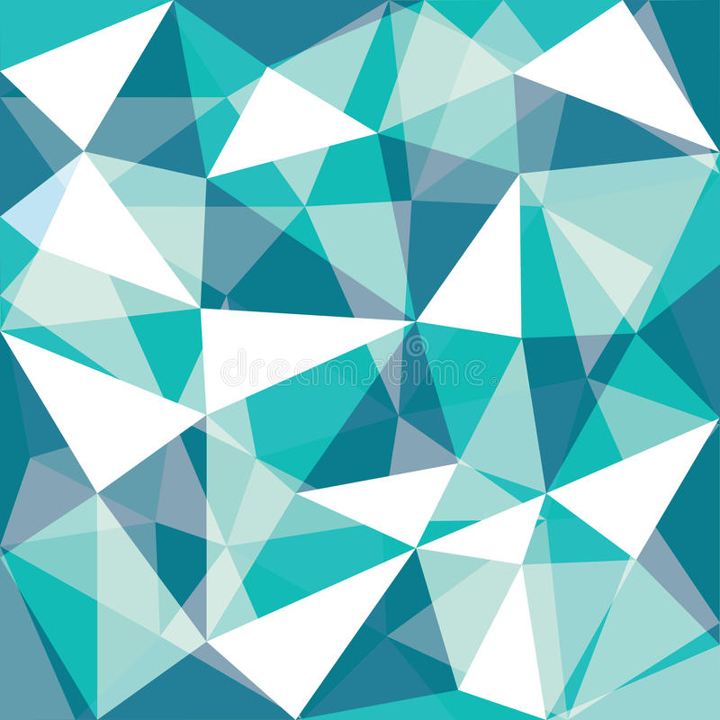 Green tone low polygon overlay. Background, illustration royalty free illustration