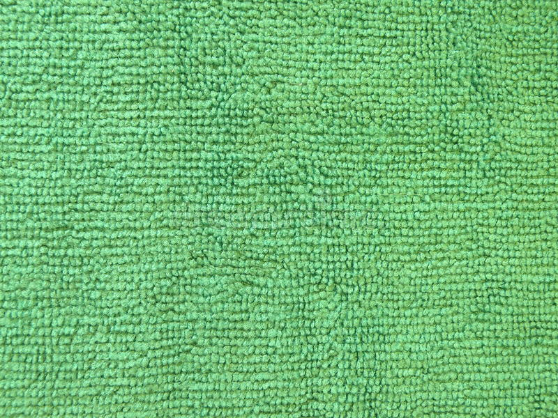 Green towel abstract