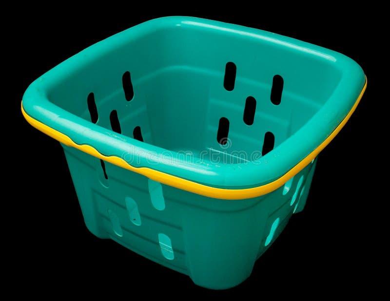 Green Toy Basket stockbild