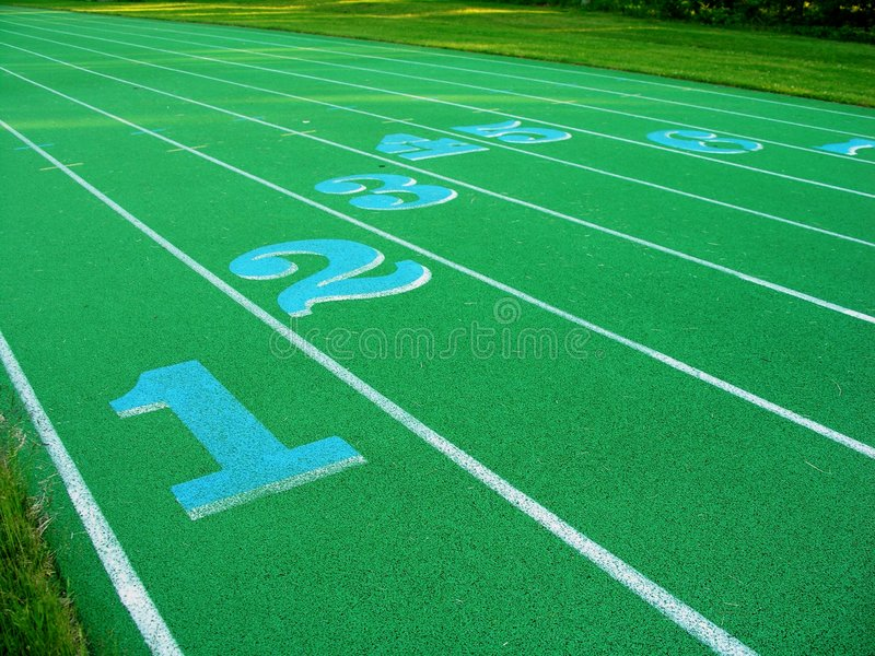 Download Green Track stock image. Image of line, numbers, number - 911221