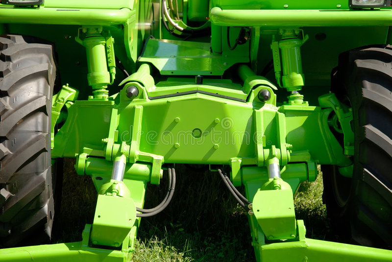 Download Green tractor stock image. Image of technology, machine - 7542425