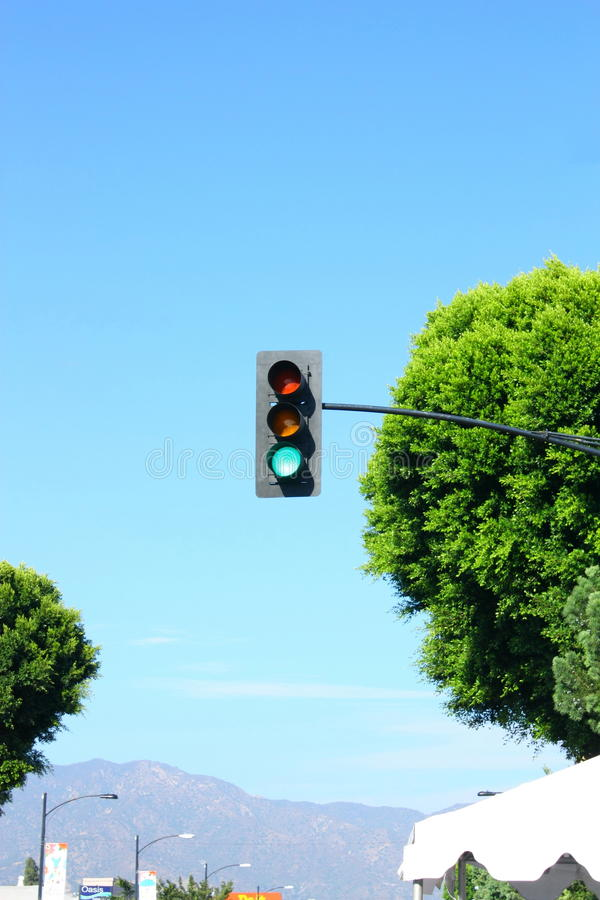 Download Green Traffic Light Royalty Free Stock Photo - Image: 20895685